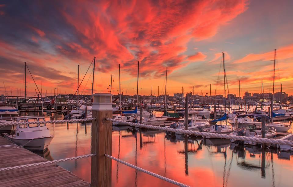 Sunset Portland Maine